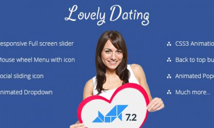 Lovely Dating – Dolphin V7.3.2 Animated Template