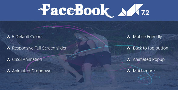 Facebook Animated Template (5 colors) – Dolphin V 7.3.2