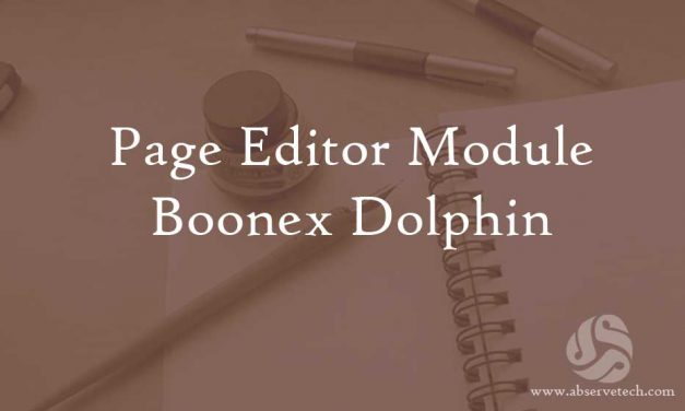 Page Editor Module for Dolphin