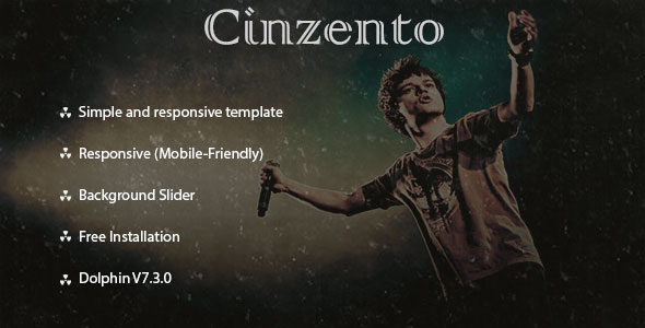 Cinzento Responsive Theme for Dolphin