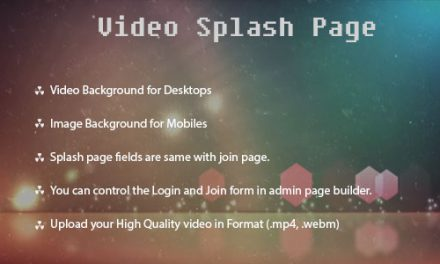 Video Splash page for Dolphin