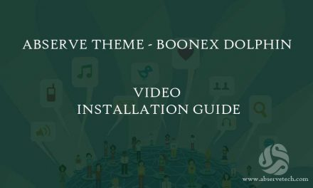 Boonex Dolphin – Abserve Theme Installation guide