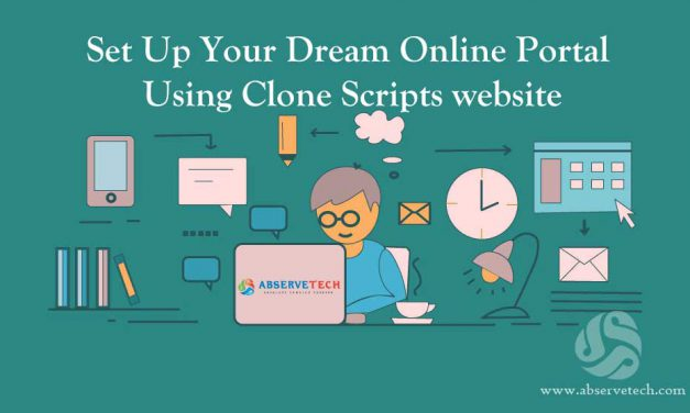 Set Up Your Dream Online Portal Using PHP Clone Scripts website