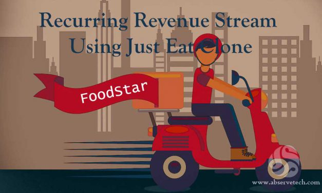 Recurring Revenue Stream Using Just Eat Clone