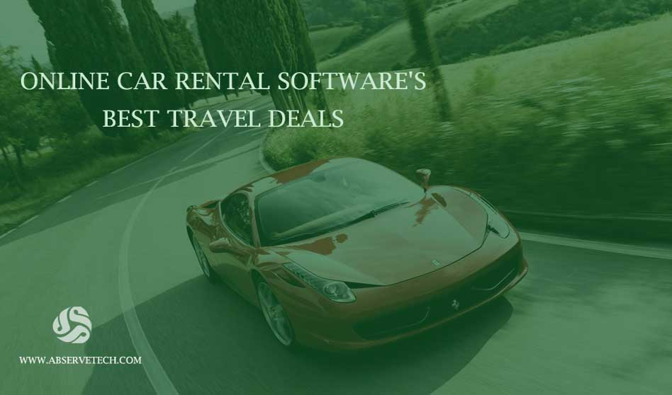 Online Car Rental Software Best Travel Deals
