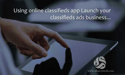 Using online classifieds app Launch your classifieds ads business