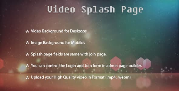 Dolphin video splash