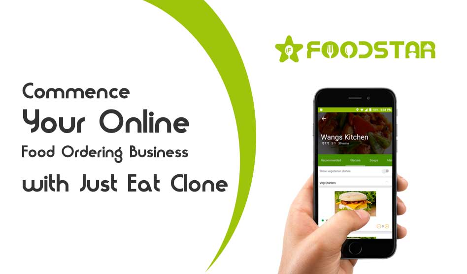 Commence Your Online Food Ordering Business with Just Eat Clone
