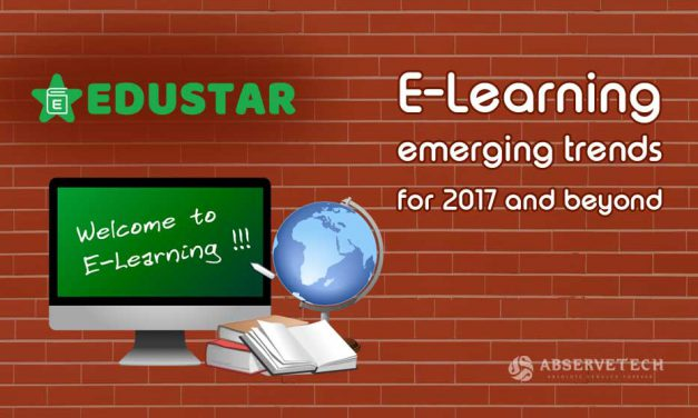 E-Learning emerging trends for 2017 and beyond