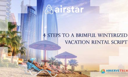 4 Steps to a brimful winterized vacation rental script