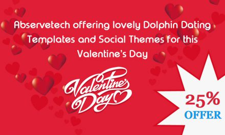 Abservetech Offering Lovely Dolphin Dating Templates And Social Themes For This Valentine's Day