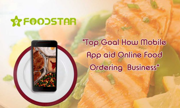 Top Goal How Mobile App Aid Online Food Ordering  Business