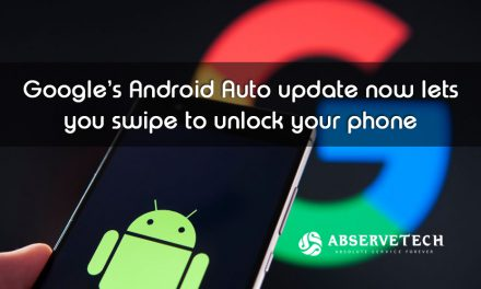 Google's Android Auto Update now lets you swipe to unlock your phone
