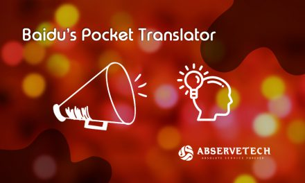 Baidu's Pocket Translator