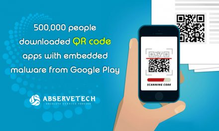 500,000 people downloaded QR code apps with embedded malware from Google Play