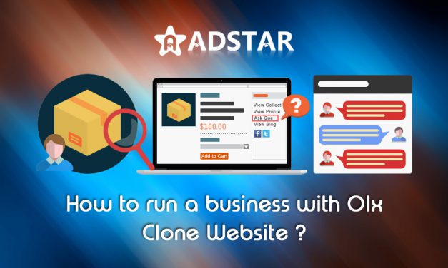 How to run a business with OLX Clone Website?
