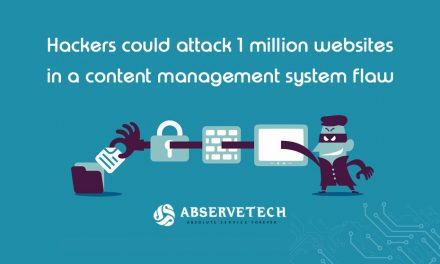 Hackers could attack 1 million websites in a content management system flaw