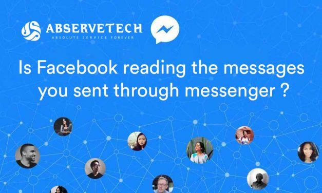 Is Facebook reading the messages you sent through messenger?