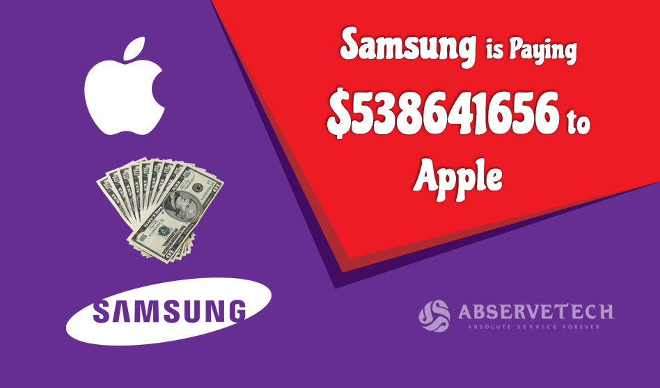 Samsung is paying $539 Million to Apple