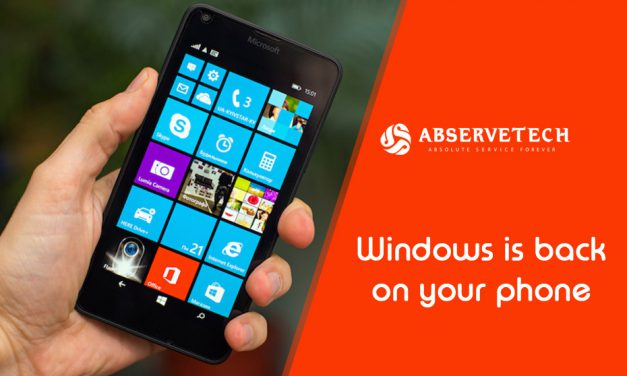 Windows is back on your phone