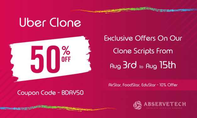 Exclusive Offers On Our Clone Scripts From Aug 3rd – Aug 15th