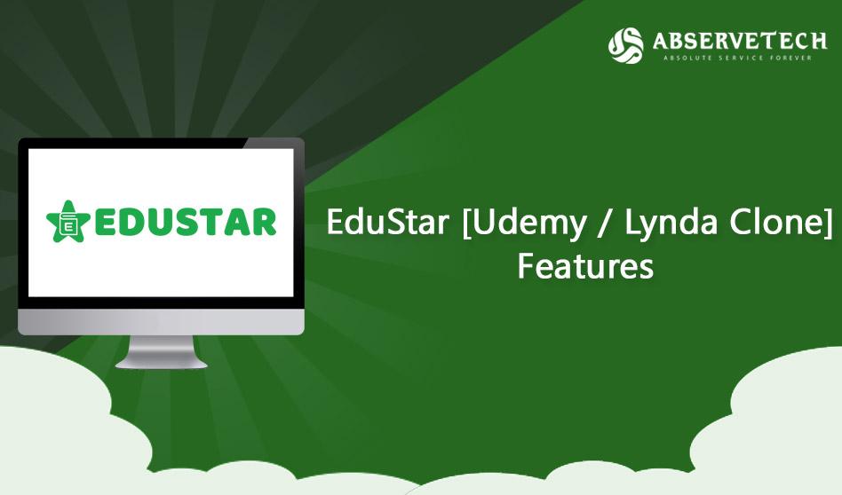 Features of EduStar – Udemy Clone | Lynda Clone