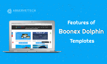 Features of Boonex Dolphin Templates