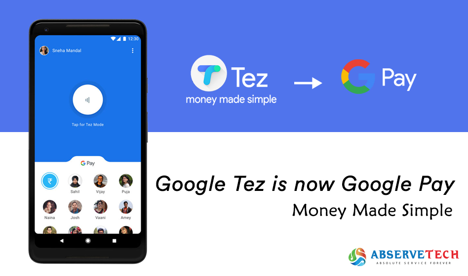 Google Tez in now Google Pay