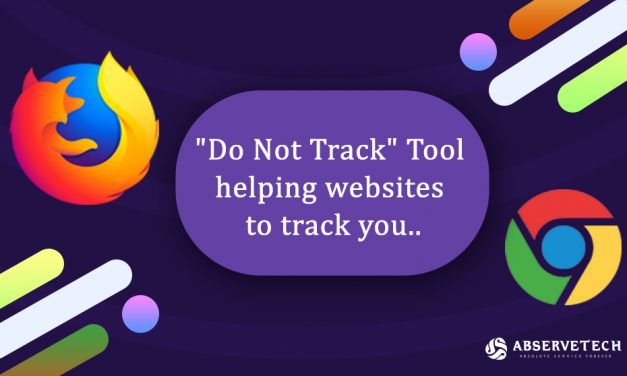 "Browser's ""Do Not Track"" Tools is helping websites to track you"
