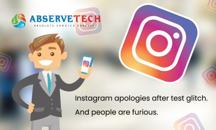 Instagram apologies after test glitch. And people are furious