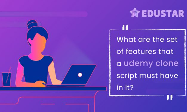 What are the set of features that an Udemy clone script must have in it?