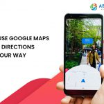 How to use Google Maps AR based directions to find your way