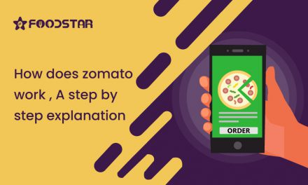 How does zomato work? A step by step explanation