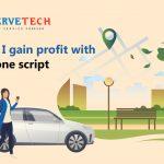 How do I gain profit with Uber Clone Script?