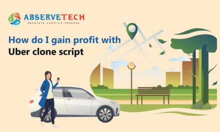 How do I gain profit with Uber Clone Script?