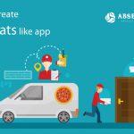 How to create UberEats like app