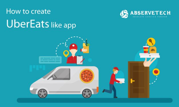 How to create UberEats like app